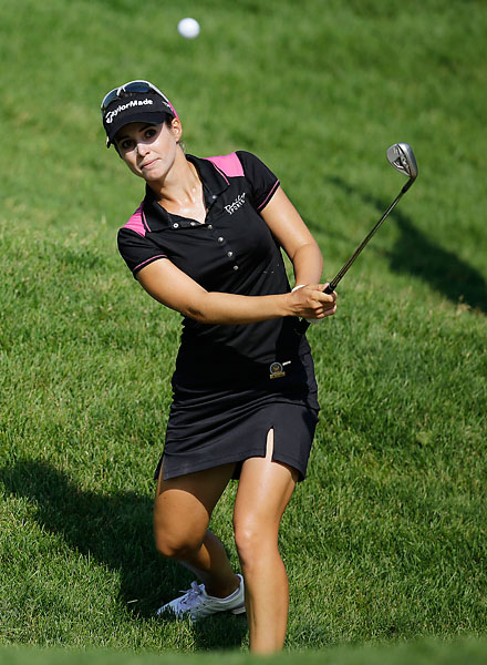 Beatriz Rescari finished near the top of the leaderboard with a 70.