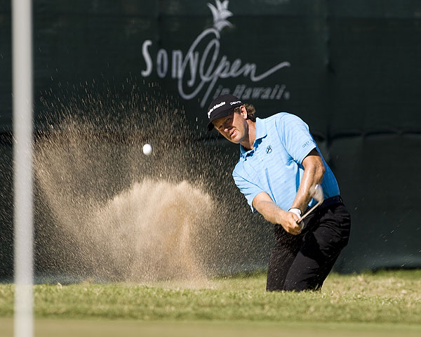 Retief Goosen went real low on Sunday with an eight-under 62.