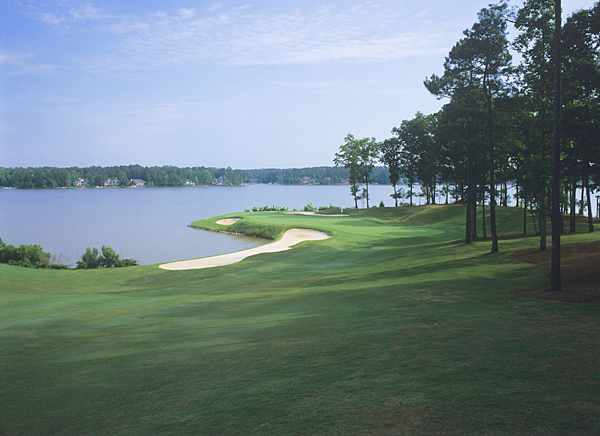 Reynolds Plantation (Great Waters)                     Greensboro, Ga.                      $240                     reynoldsplantation.com                                          A memorable back nine that skirts inlets of Lake Oconee highlights this gorgeous, playable layout that's halfway between Atlanta and Augusta.