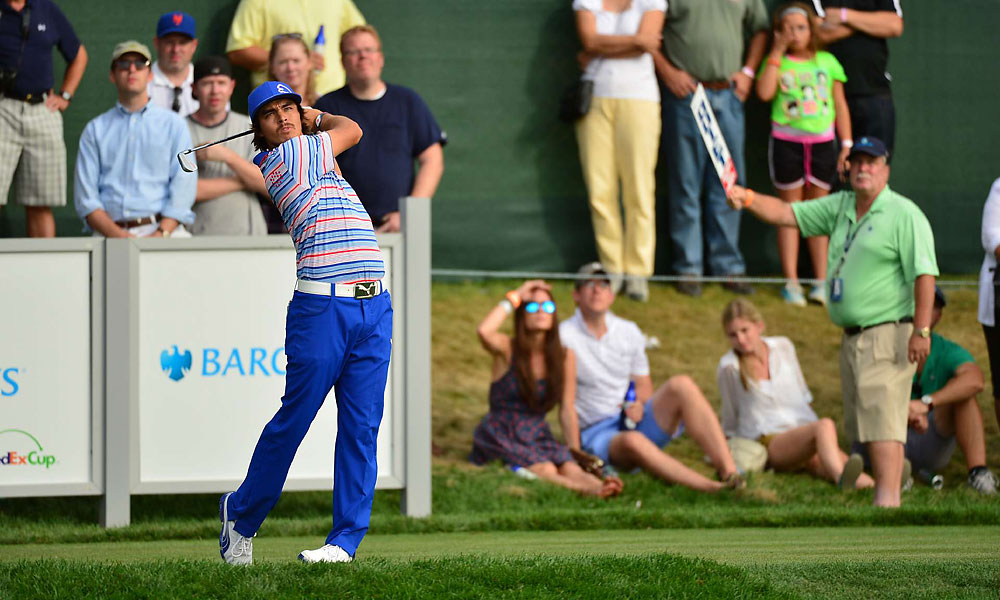 Rickie Fowler tied for 24th.
