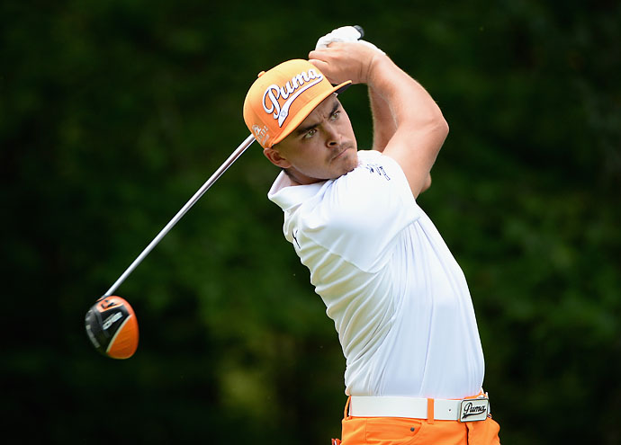 """""""Sneaky. When you saw that at the PGA in the long drive contest, Keegan was not very happy.""""                     --Rickie Fowler on being sneaky-long and beating long-hitting Keegan Bradley in the PGA Championship Long Drive Competition, 328 yards to 326 yards. Louis Oosthuizen won the event with a 340-yard drive."""