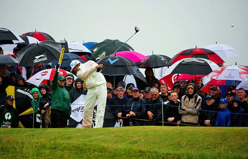 Rickie Fowler won over the British fans with his fifth-place finish at the Open at Royal St. George's.