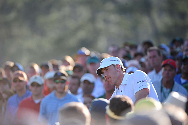 is tied for sixth with Poulter and Hunter Mahan.