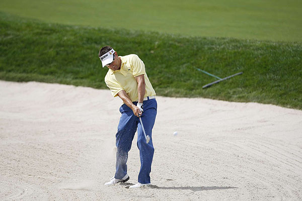 Robert Allenby shot a six-over 146 to miss the cut.