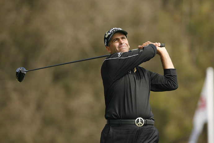 "As Rocco Mediate and Tiger Woods go toe-to-toe at the 2008 U.S. Open at Torrey Pines, Miller alludes to Rocco's blue-collar bearing: ""Guys with the name of Rocco don't get the trophy, do they?"" he says, before adding, ""He looks more like the guy who cleans Tiger's swimming pool."" Miller later apologizes, saying the comment was intended as a compliment but came out wrong."