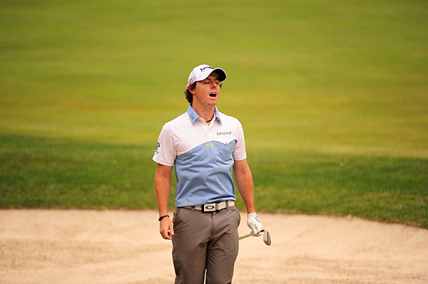 McIlroy made one bogey, on the par-3 10th, and four birdies.