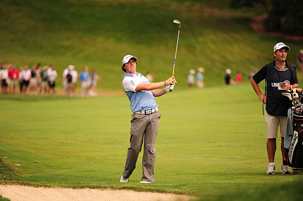 McIlroy is trying to win his first major championship.