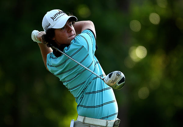 Rory McIlroy, who finished T20 at the Masters, also got his first look at TPC Sawgrass Tuesday.