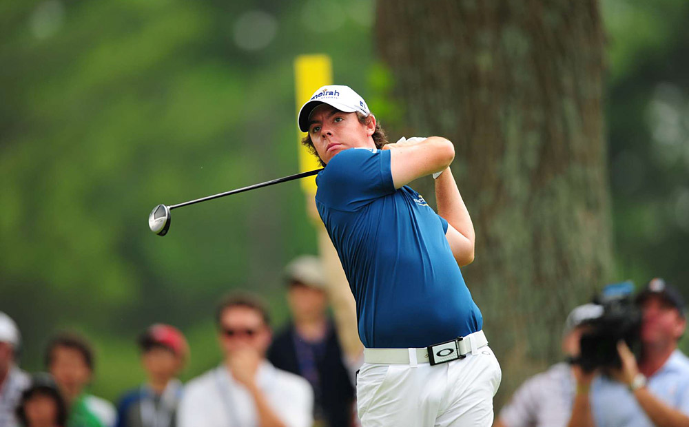 McIlroy opened his U.S. Open at Congressional with six birdies and no bogeys on Thursday and immediately jumped to the top of the leaderboard.