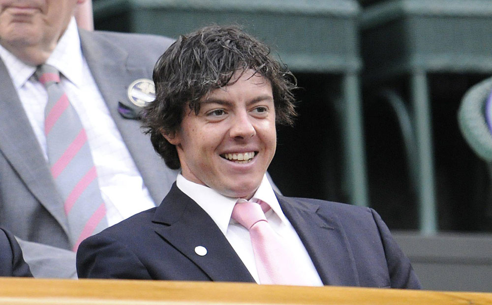 Shortly after his U.S. Open victory, McIlroy sat in the Royal Box at Wimbledon to watch the women's quarterfinal matches.