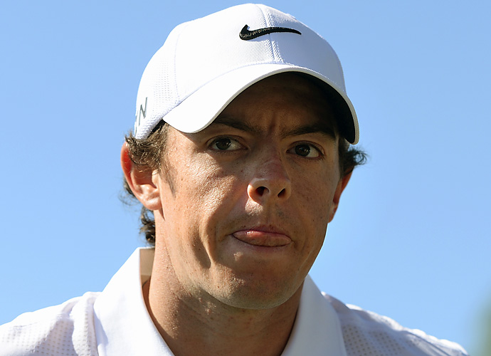 June 19, 2012: McIlroy traveled to Eastbourne, England, to watch Wozniacki in the AEGON International the week before competing in the Irish Open.