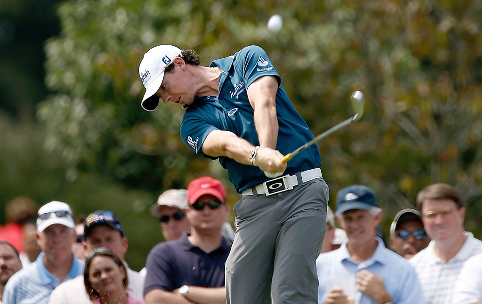 McIlroy, who has won the last two playoff events, got off to a slower start, finishing with a 69.