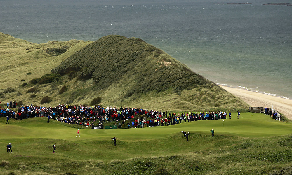 McIlory holds the course record at Royal Portrush -- a 61 that he shot at age 16.
