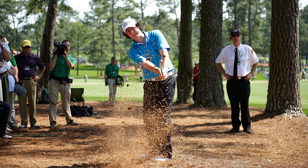 McIlroy tied for 20th at the 2009 Masters, his first major as a pro.