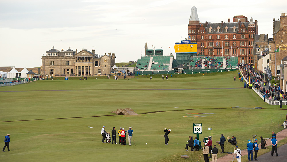 At the 2010 British Open at St. Andrews, McIlroy was in contention in a major for the first time. He opened with a nine-under 63, tying the course record, and wound up finishing tied for third.