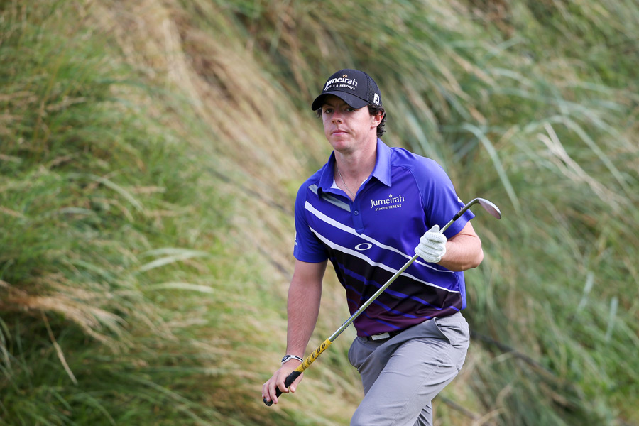 Rory McIlroy's struggles continued on Sunday. He finished the tournament with a three-over 73.