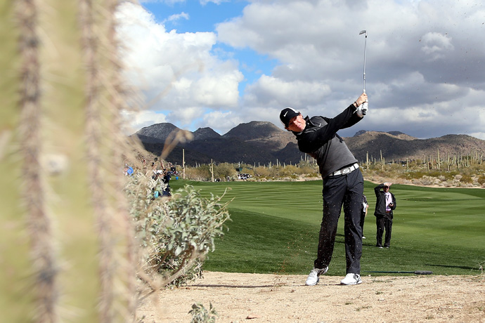 World No. 1 Rory McIlroy was also knocked out, losing to childhood friend Shane Lowry.