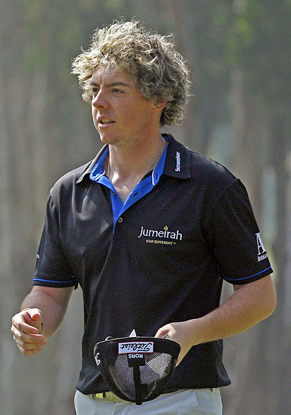 McIlroy dyed his hair for the 2010 Hong Kong Open.