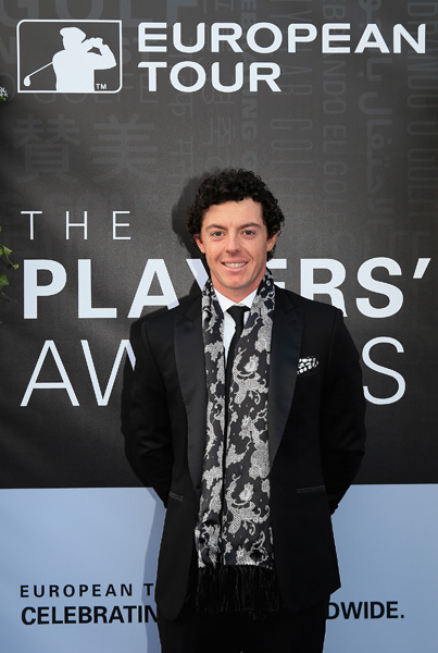 The European Tour held its annual dinner Tuesday night at the Sofitel Hotel at Heathrow Airport.                                          Rory McIlroy.