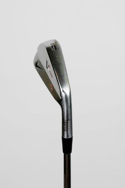 "Nike VR Pro Blade 6-Iron With Project X Steel Shaft: ""My favorite club when I'm practicing is probably my 6-iron. That's the club I go to when I hit balls or do drills. It's not quite a long iron or a short iron, it's right in the middle. If you look at my proximity to the hole in the PGA Tour stats from 175-200 yards, it's probably in the top 5 every year just because I practice so much with my 6-iron."""