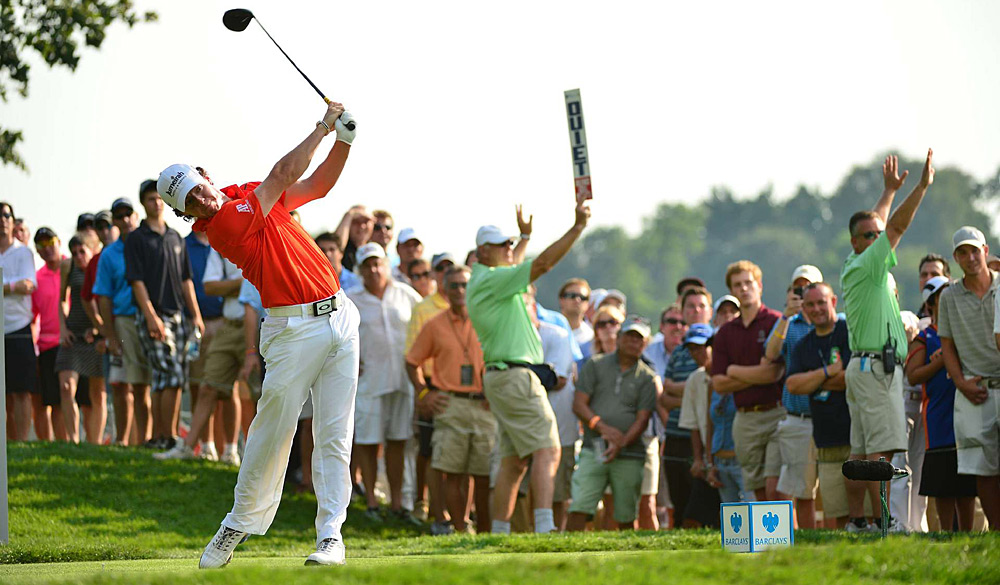 Rory McIlroy shot a two-over 73 to barely make the cut.