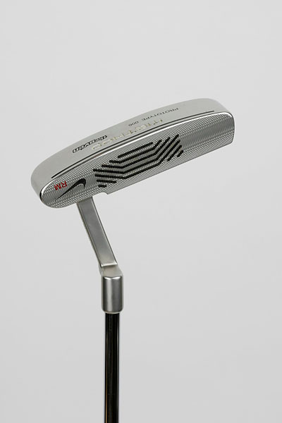 "Nike Method 006 Method Putter: ""I'm very comfortable with it. Putters are very similar to fairway woods, once you find one you like, it's hard to come off it. I don't know if it's a sentimental thing or you just get used to seeing putts go in with it."""