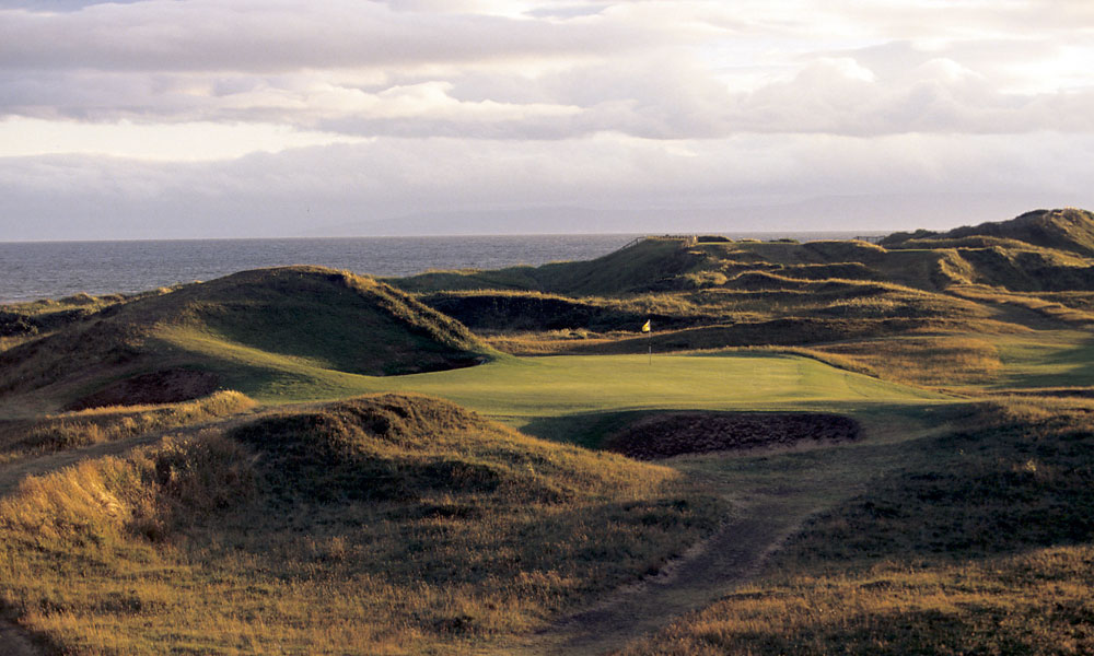 "Royal Troon                       Eight times the ""Champion golfer of the year"" has been decided at this stern test on Scotland's west coast."
