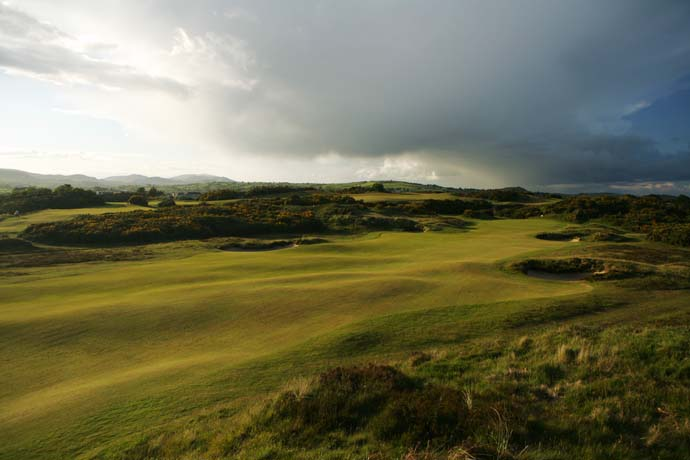 No. 7: Royal County Down, Newcastle, Northern Ireland                       (No. 6 on Golf Magazine's Top 100 Courses in the World)