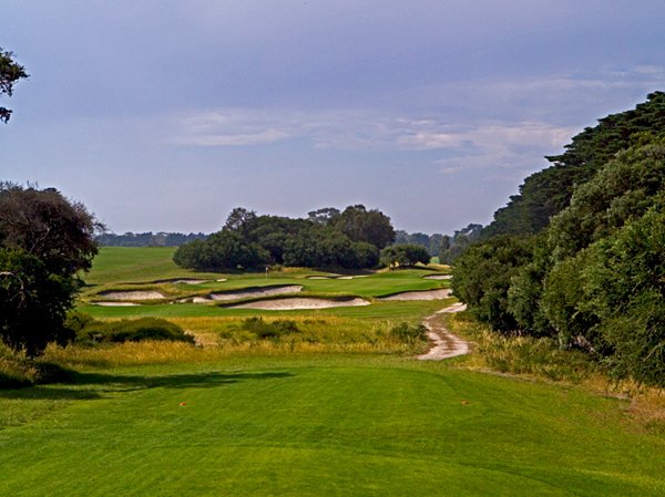 ROYAL MELBOURNE (EAST)#72 in the World                                              The Sandbelt sister to the more famous West boasts six holes that were utilized on the Composite course, the best of which, Nos. 3, 4, 17 and 18, comprised the finish. Alex Russell and Vern Morcom, who apprenticed under MacKenzie in his 1926 visit, laid out the East in 1932, but the differences in quality are subtle. The East may suffer from less dramatic terrain than its sibling, but its bunkering, green complexes and shot values are equally compelling.                                              • GOLF.com Course Finder Profile