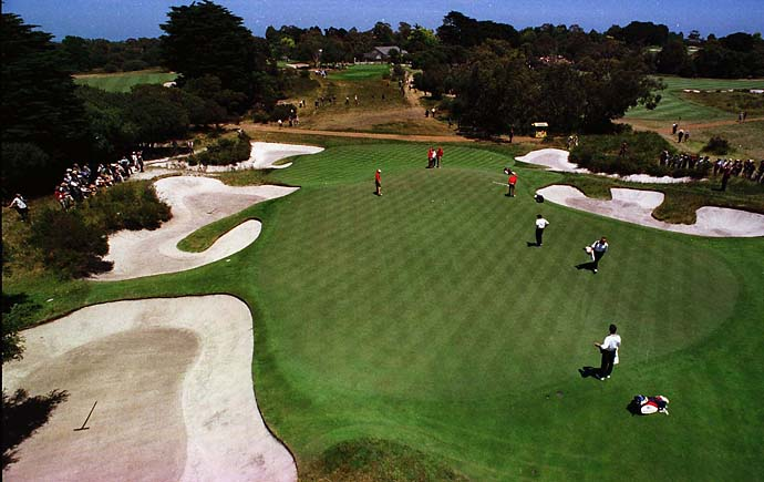 No. 3: Royal Melbourne, Melbourne, Australia                       (No. 13 on Golf Magazine's Top 100 Courses in the World)