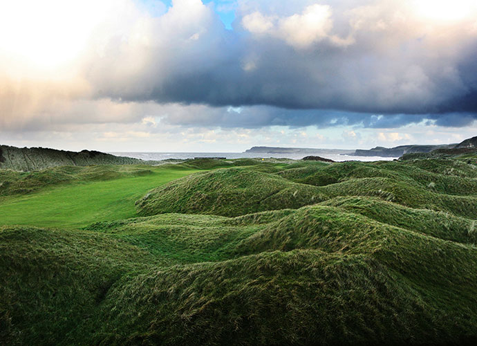 10. Royal Portrush (Dunluce), Portrush, Northern Ireland; Opens: 1951, (2019)                       The only Irish course ever to host an Open is perennially ranked in the world's Top 15 courses, thanks to a superior H.S. Colt design in 1929 that maximizes its setting in high dunes along the Irish Sea. Max Faulkner took the only Open held here. For 2019, we like Rory McIlroy's chances. After all, he set the course record here, 61, as a 16-year-old.