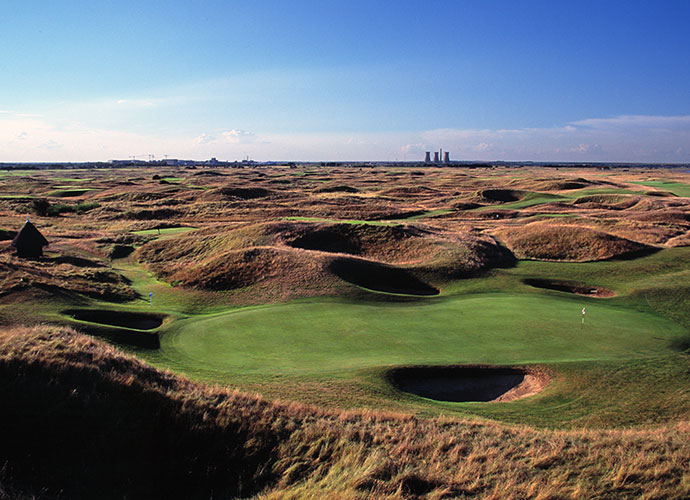 "10. Royal St. George's, Sandwich, England: This 14-time British Open host dates to 1887. Ranked 29th in the world, ""Sandwich"" as it is known colloquially serves up blind shots and supremely interesting contours in equal measure. Boasting the biggest sandhills of all Open venues, Royal St. George's heaving, dune-studded linksland also sports some of the rota's most fearsome bunkers."