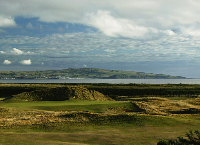 "14. Royal Troon (Old), Troon, Scotland: Arnold Palmer, Tom Weiskopf and Tom Watson are among the Americans who have won at Troon, yet the most memorable shot was struck by a non-winner, 71-year-old Gene Sarazen, who aced the 123-yard, ""Postage Stamp"" 8th during the 1973 Open -- with a 5-iron! While some argue that the closing stretch is flattish and dull, it is undeniably tough, earning Troon its No. 44 ranking."