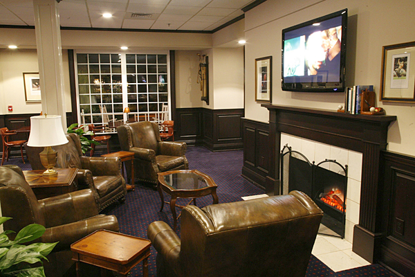 The Ryder Cup Lounge at Pinehurst Resort                     Pinehurst, N.C.