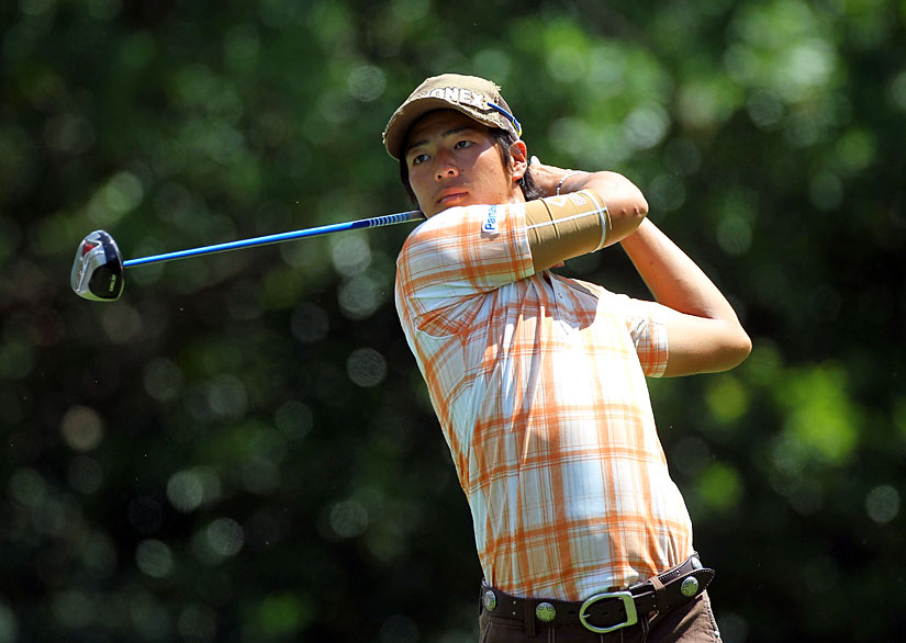 A week after nearly winning in Puerto Rico, Ryo Ishikawa missed the cut with rounds of 73-72.