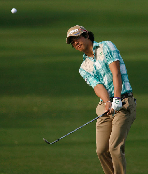 Ryo Ishikawa had a big following at Waialae, but he was unable to make it to the weekend.