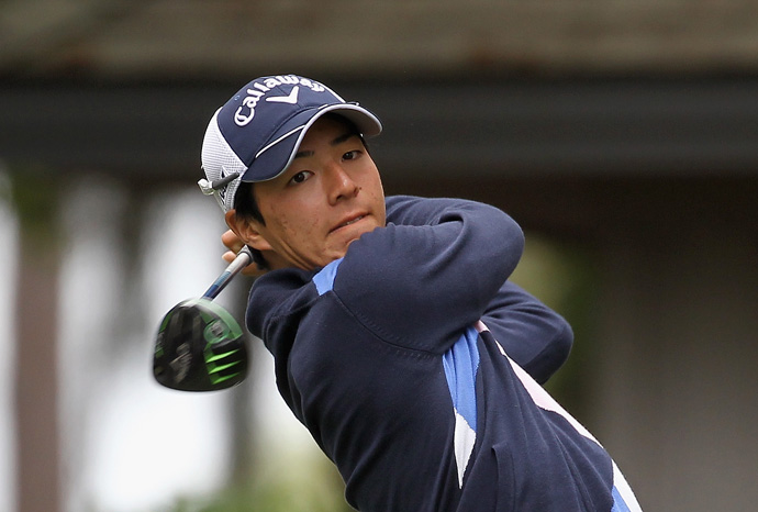 Ryo Ishikawa made five birdies and a bogey for a 67.