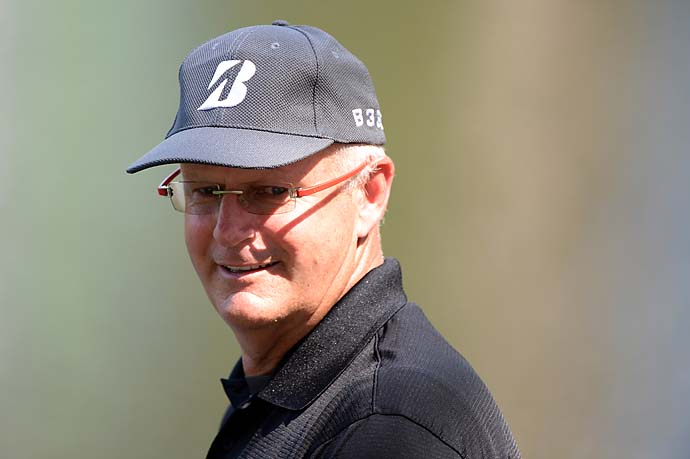 """I'm back to the old farts next week, yeah, on a frigging long golf course as well at Sugarloaf.""                       --Sandy Lyle on returning to the Champions Tour after finishing T54 at the Masters."