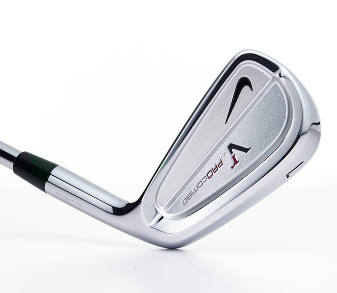 Irons: Nike VR Pro Combo (2)                     (7-iron pictured)
