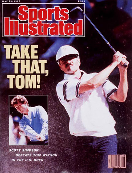 Scott Simpson wins the 1987 U.S. Open at the Olympic ClubJune 29, 1987