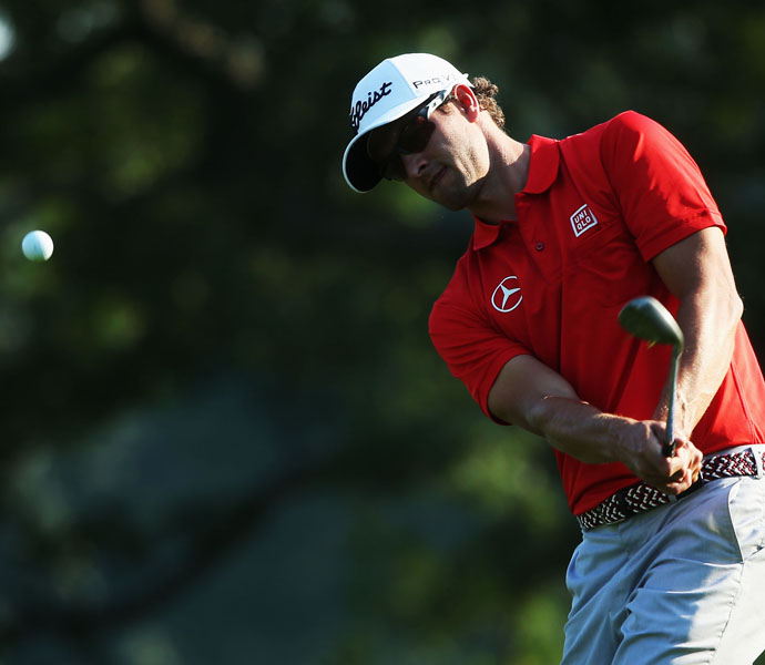 Adam Scott                     The world's fifth-ranked player is currently 9th on the money list.