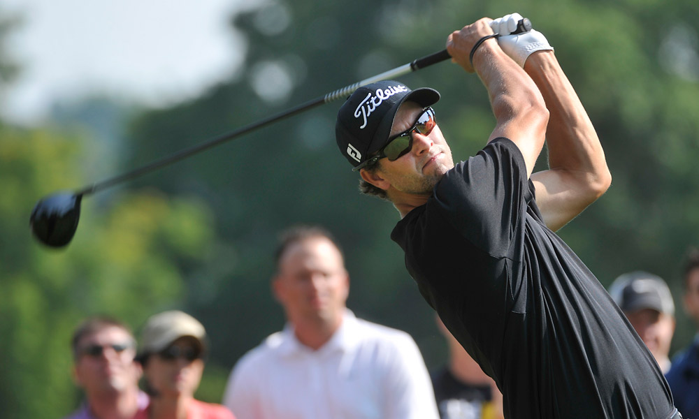 Adam Scott also had a 71.