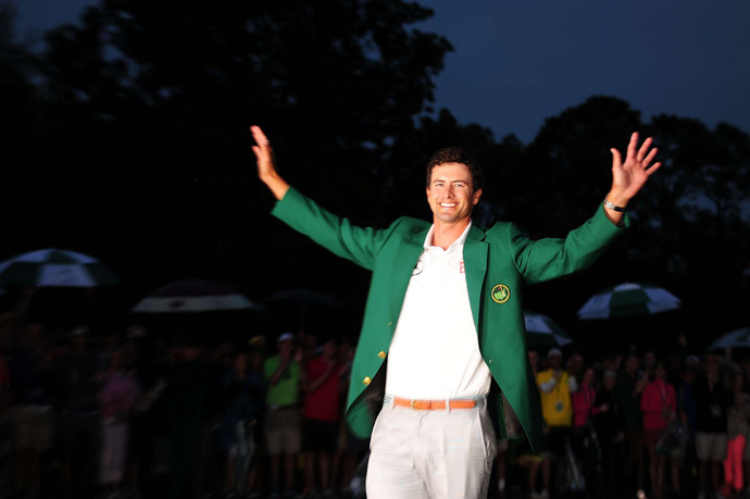 "''It's amazing that it's my destiny to be the first Australian to win,"" Scott said. ""It's incredible."""