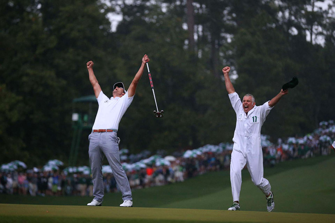 Scott defeated Angel Cabrera on the second hole of a playoff.