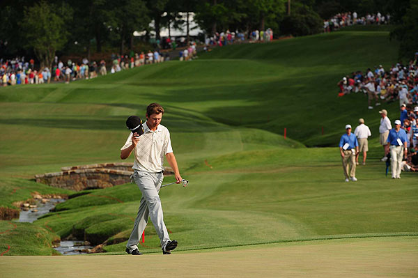 Sal's Stats                       Statistics from this weekend's Quail Hollow Championship                                              By Sal Johnson                                                                     Sean O'Hair, 26, joins Sergio Garcia and Adam Scott as the only players under 30 with at least three victories. O'Hair is the lone American in the group.