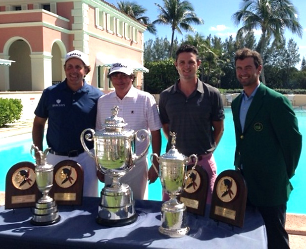 @JustinRose99 Played the Seminole Member Pro today .... Was in decent company....
