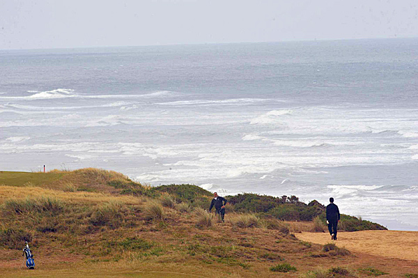 All four courses make up the Bandon Dunes Golf Resort in Bandon, Oregon, and rest on the shores of the Pacific Ocean.