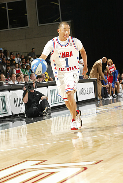 "Anthony Kim: BasketballAK's got game. Shown here at the 2010 All-Star celebrity game in Dallas, Kim played street ball as a kid growing up in Los Angeles and even played pickup with the Oklahoma team in college, but he never had any wild dreams of making it to the NBA. ""Do you know how parents are always telling their kids they can be the president?"" Kim told SI in 2008. ""My dad was pretty straightforward: 'You are not going to be the president. You are not going to make it to the [NBA]. What you can do is play golf.' """