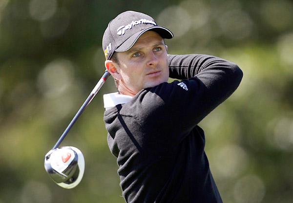 Justin Rose made nine birdies on his way to an opening-round eight-under 63.