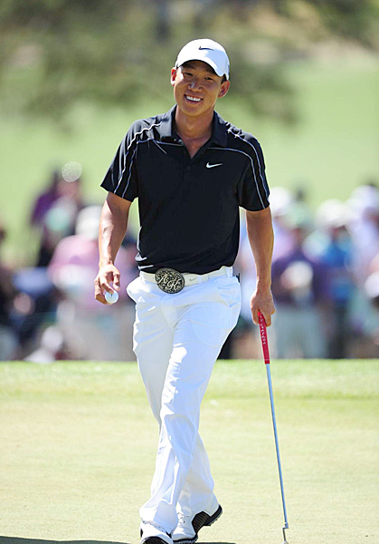 Anthony Kim, 25, golfer, PGA Tour                       One of only five players in the past 30 years to win three                       Tour events before age 25, Kim was also a stud                       at the '08 Ryder Cup (2-1-1, including a 5-and-4 beatdown                       of Sergio Garcia). He struggled with injuries in 2010,                        but few doubt that he will quickly return to form.